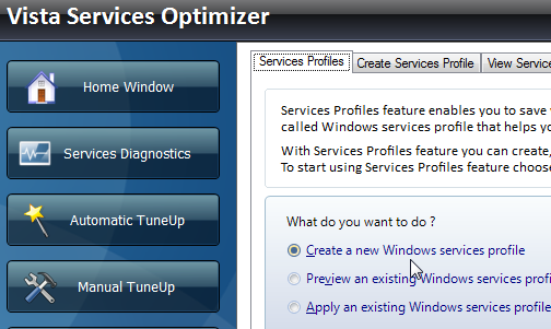 Snabbare Windows med Vista Services Optimizer
