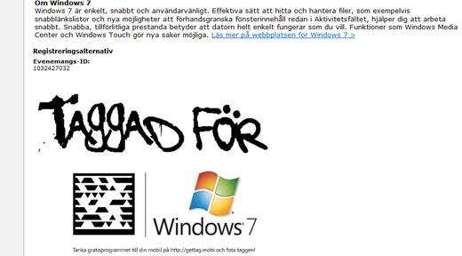 Microsoft är taggad